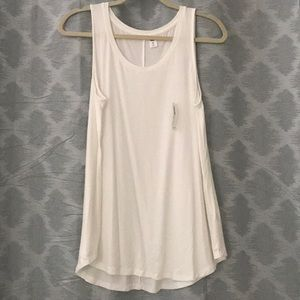 Old Navy - Off White Swing Sleeveless Shirt
